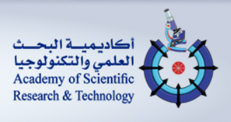 Logo of Egyptian Academy of Scientific Research and Technology (ASRT)