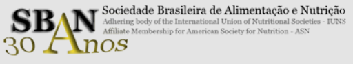 Logo of Brazilian Society for Food and Nutrition